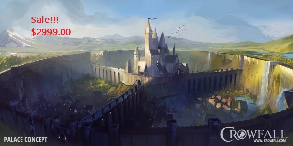TT Crowfall Kickstarter Palace Bundle
