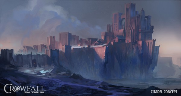 TT Crowfall Kickstarter Mountain Citadel