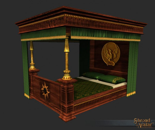 TT Shroud of the Avatar Baron Founder Bed