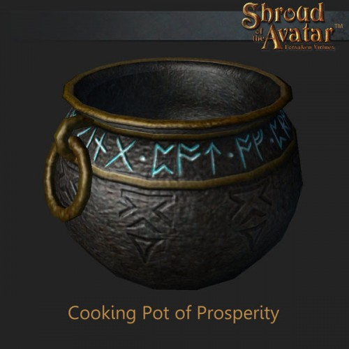 TT Shroud of the Avatar Cooking Pot of Prosperity