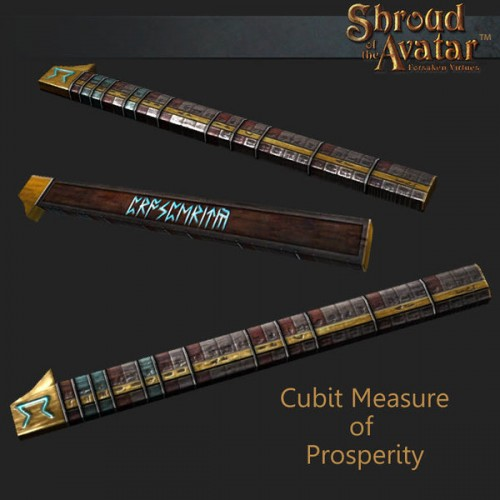 TT Shroud of the Avatar Cubit Measure of Prosperity