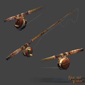 TT Shroud of the Avatar Fishing Rod of Prosperity