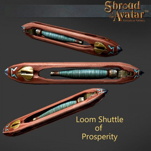 TT Shroud of the Avatar Loom Shuttle of Prosperity