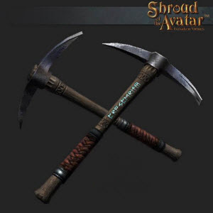 TT Shroud of the Avatar Pickaxe of Prosperity