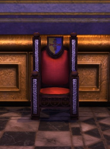 TT Shroud of the Avatar Lord British Throne