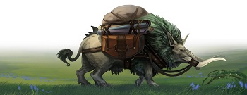 Crowfall Pack Pig