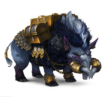 Crowfall Merchant Pack Pig
