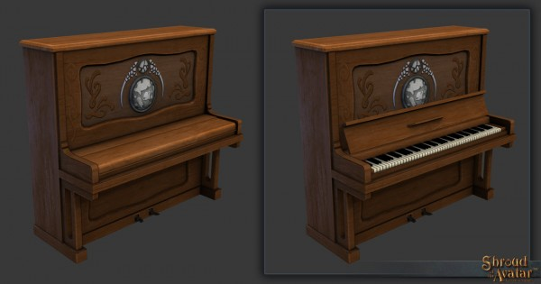 TT Shroud of the Avatar Benefactor Citizen Piano