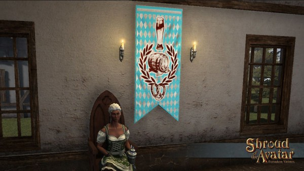 TT Shroud of the Avatar Virtue Oktoberfest Banner