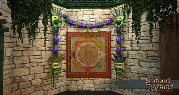 TT Shroud of the Avatar Mardi Gras Strand and Swag Garland Pack