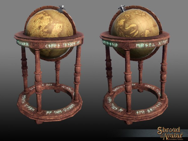 TT Shroud of the Avatar New Britannia Globe