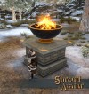 Shroud of the Avatar Large Ornate Elysian Brazier