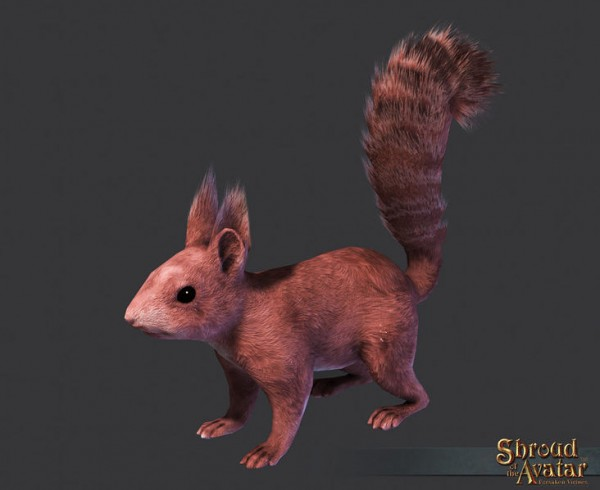 TT Shroud of the Avatar Red Squirrel Pet