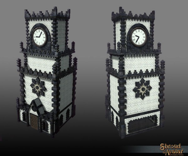TT Shroud of the Avatar Darkstarr Clock Tower