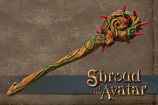 TT Shroud of the Avatar Thorn Mace