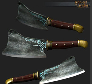 TT Shroud of the Avatar Cleaver of Prosperity