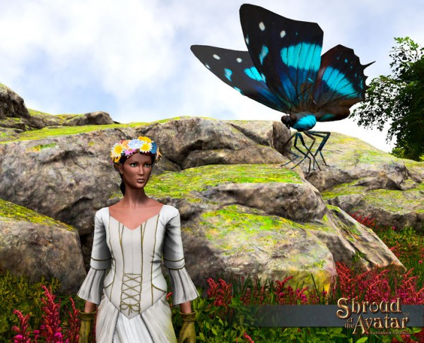 TT Shroud of the Avatar 2x Flower Crown