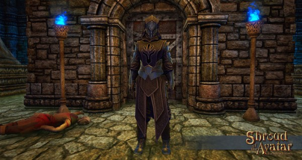 TT Shroud of the Avatar Obsidian Order Cloth Armor Set