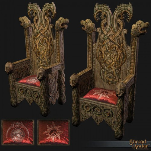 TT Shroud of the Avatar Lord Marshal Founder Throne