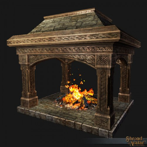 TT Shroud of the Avatar Lord Marshal's Great Hearth