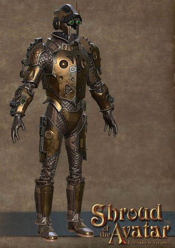 TT Shroud of the Avatar Copper Clockwork Armor Set