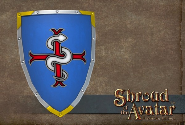 TT Shroud of the Avatar Founder Heraldry Heater Shield