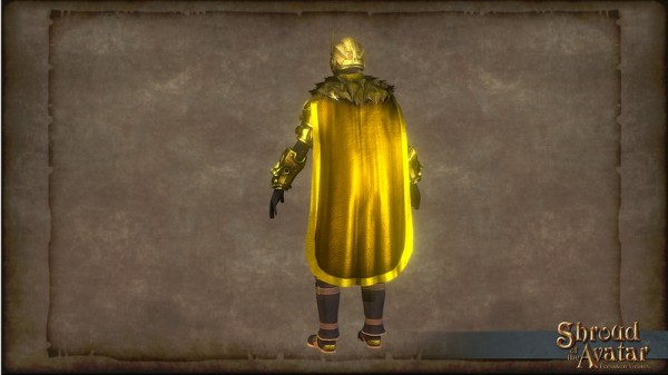 TT Shroud of the Avatar Golden Cloak