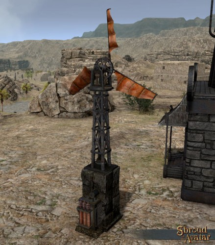 TT Shroud of the Avatar Kobold Wind Power Generator