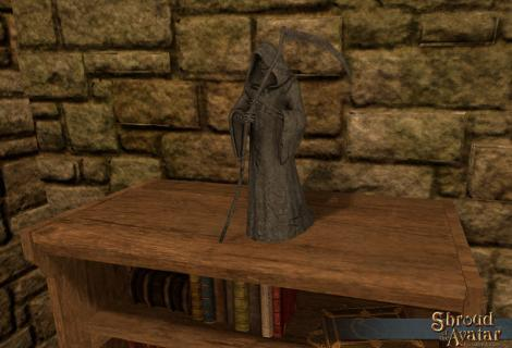 TT Shroud of the Avatar Tabletop Grim Reaper Statue