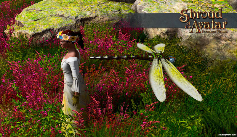 TT Shroud of the Avatar Giant Butterfly and Giant Dragonfly Pack