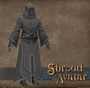 TT Shroud of the Avatar Obsidian Order Mage Robes