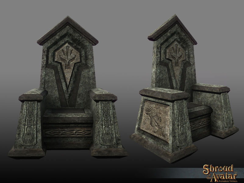 TT Shroud of the Avatar Obsidian Order Throne