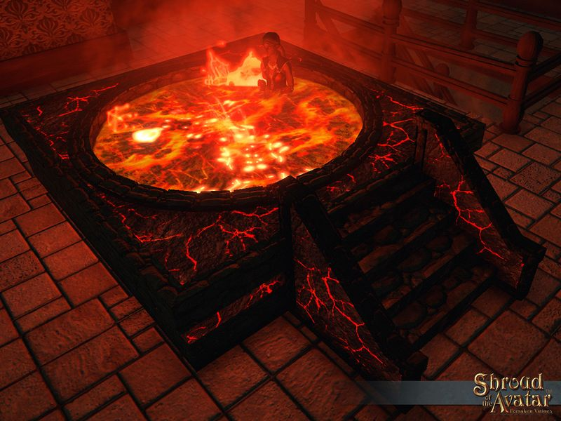 TT Shroud of the Avatar Lava Hot Tub