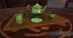 TT Shroud of the Avatar Ornate Tea Set