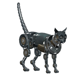 TT Shroud of the Avatar Silver Clockwork Cat