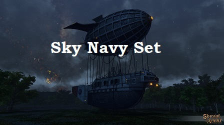 TT Shroud of the Avatar Sky Navy Complete Set