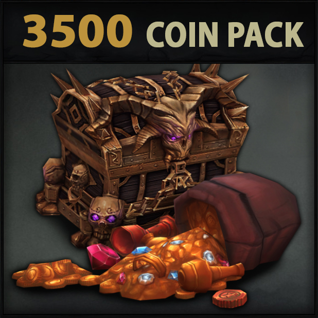 Arcfall 3500 Coin Pack