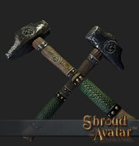 TT Shroud of the Avatar Founder Artisan Smithing Hammer
