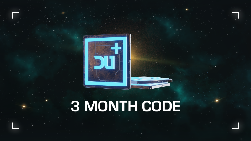 Dual Universe 3  Months Subscription