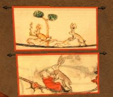 TT Shroud of the Avatar  Arch Lapin Life Study Tapestry Set