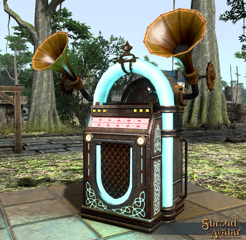 TT Shroud of the Avatar Ornate Automated 16-Cylinder Phonograph