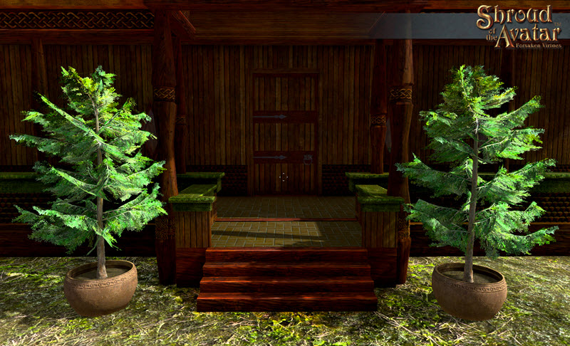 Shroud of the Avatar Potted Yellow Cedar Tree 3-Pack (digital)