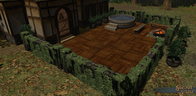 Shroud of the Avatar Checkered Maple Parquet Pavers