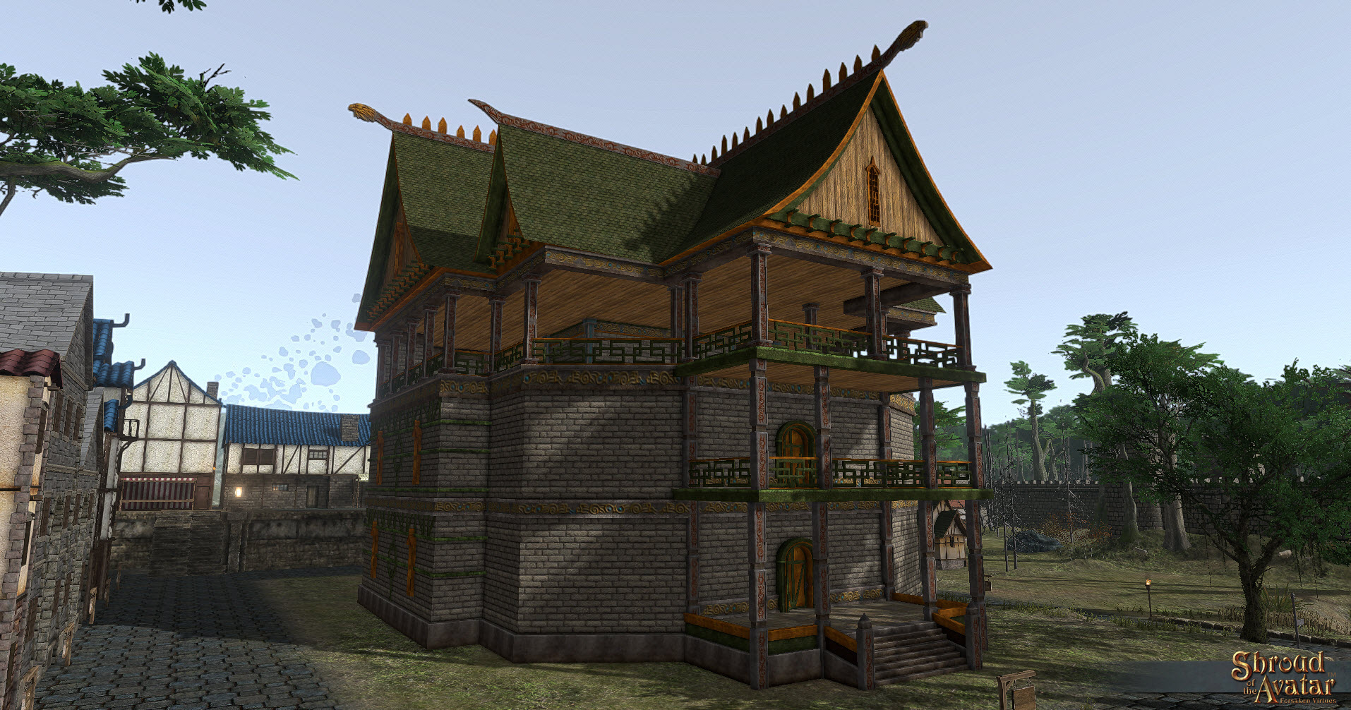 Shroud of the Avatar :Viking Great Hall City Home